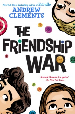 Cover of The Friendship War by Andrew Clements