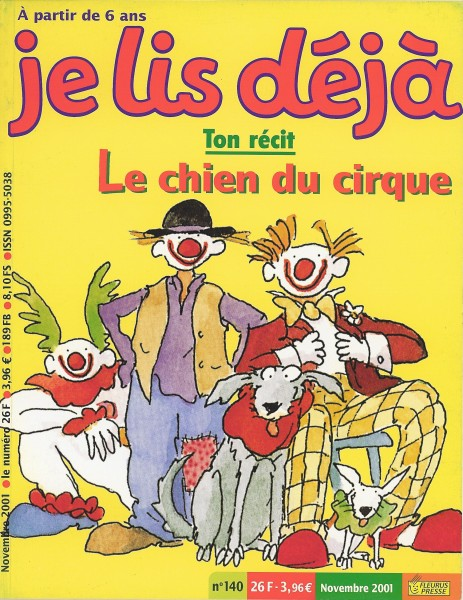 Cover of Circus Family Dog in France