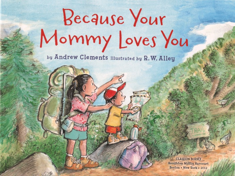 Cover of Because Your Mommy Loves You