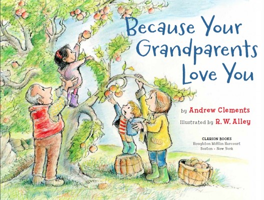 Cover of Because Your Grandparents Love You
