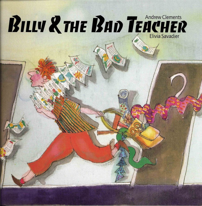 Cover of Billy and the Bad Teacher