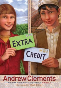 Cover of cover_extra-credit_EN-US by Andrew Clements