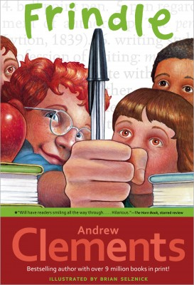 Cover of Frindle by Andrew Clements