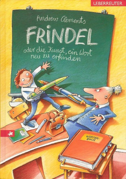Cover of Frindle in Germany
