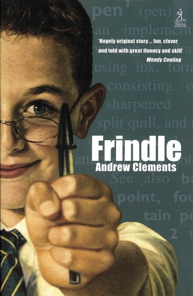 Cover of Frindle in United Kingdom