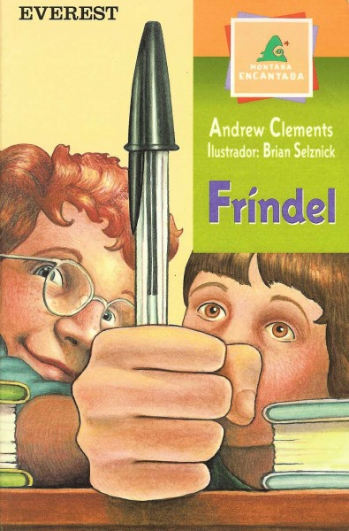 Cover of Frindle in Spain
