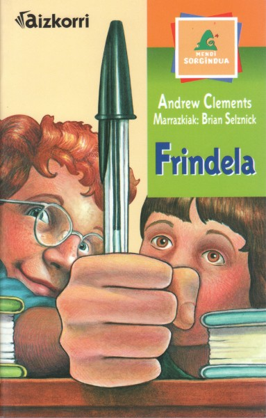 Cover of Frindle in Basque