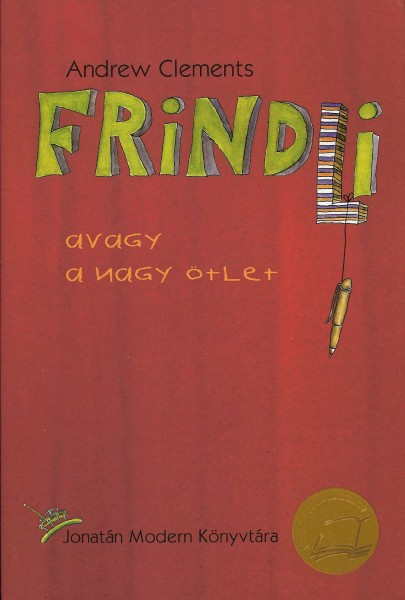Cover of Frindle in Hungary