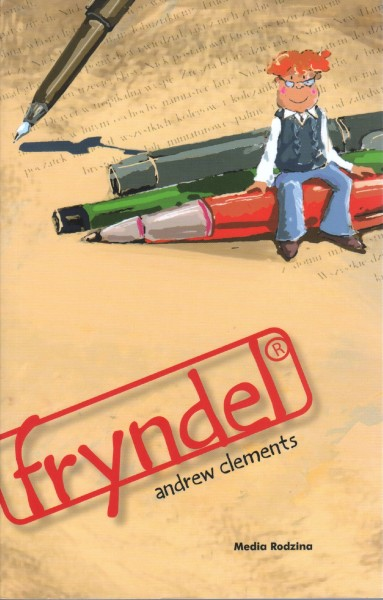 Cover of Frindle in Poland