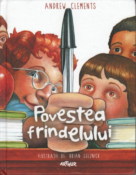 Cover of Frindle in Romainia