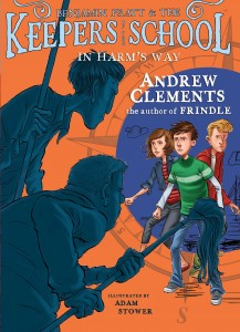 Cover of cover_in-harms-way_EN-US by Andrew Clements