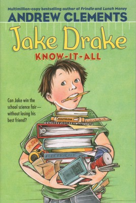 Cover of Jake Drake, Know-It-All by Andrew Clements