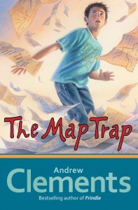 Cover of cover_map-trap_EN-US by Andrew Clements