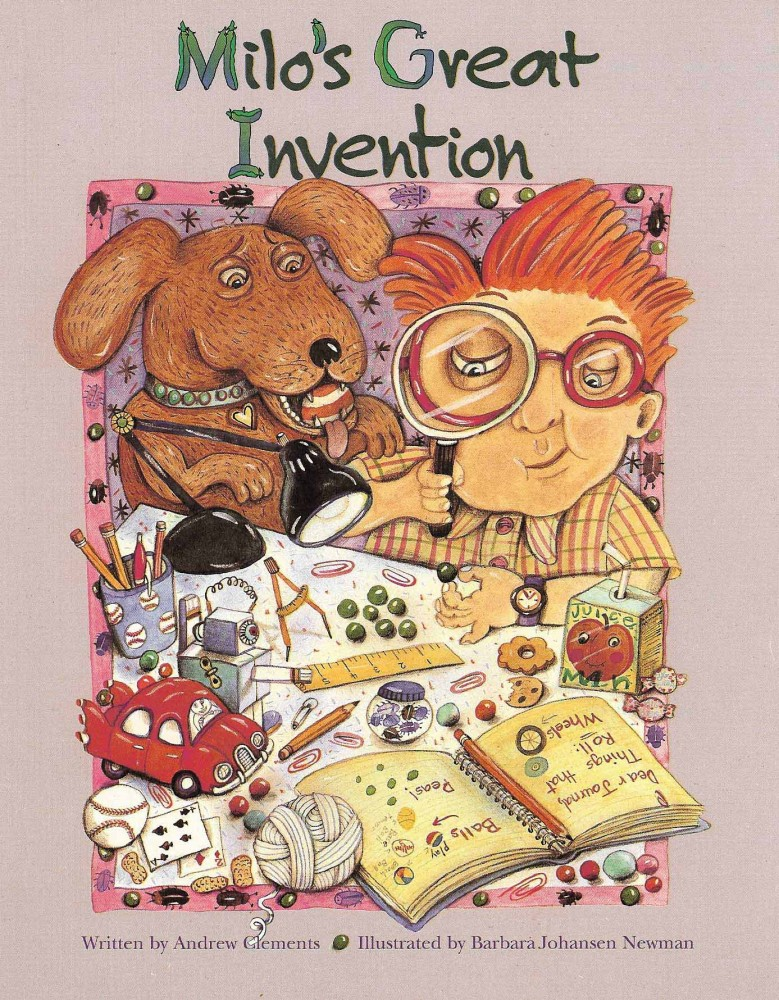 Cover of Milo's Great Invention