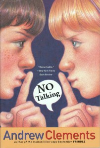 Cover of cover_no-talking_EN-US by Andrew Clements