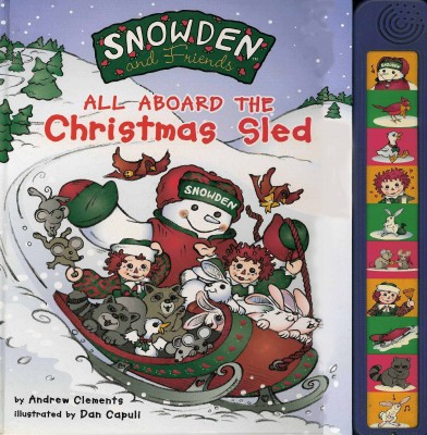 Cover of All Aboard the Christmas Sled