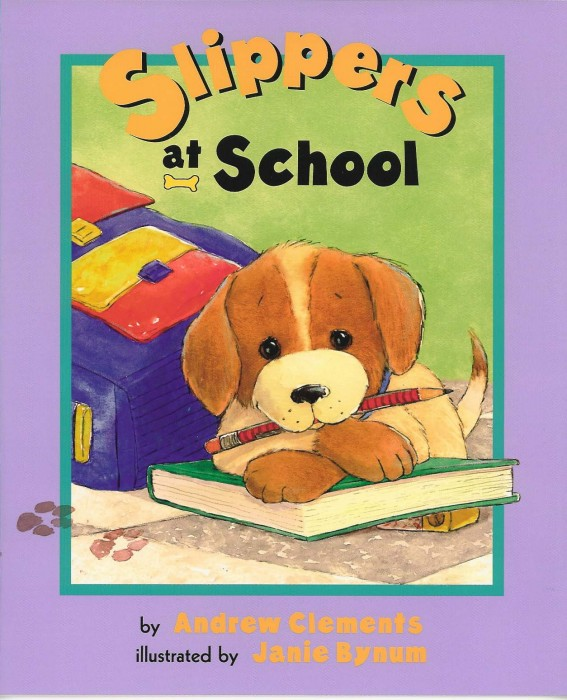Cover of cover_slippers-at-school_EN-US