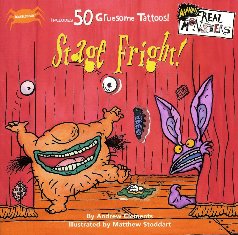 Cover of Stage Fright!