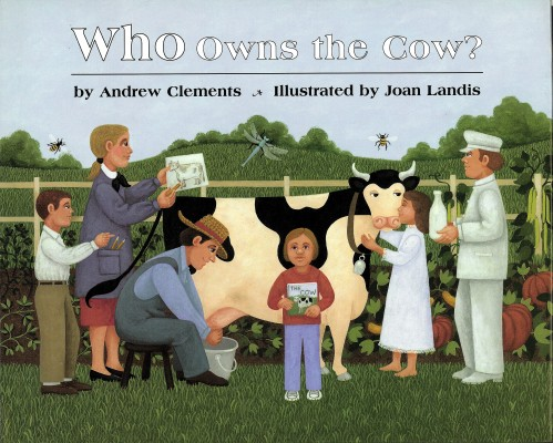 Cover of Who Owns the Cow