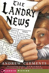 Cover of cover_the-landry-news_EN-US by Andrew Clements