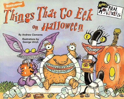 Cover of Things That Go Eek on Halloween