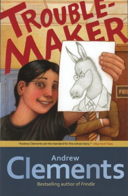 Cover of Troublemaker by Andrew Clements